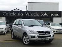 2010 60 MERCEDES-BENZ M CLASS 3.0 ML350 CDI BLUEEFFICIENCY SE 5D AUTO 231 BHP DI