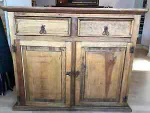 Santa Fe solid wood cabinet with drawers
