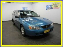 2003 Holden Commodore VY II Executive Blue Automatic Wagon Blair Athol Campbelltown Area Preview