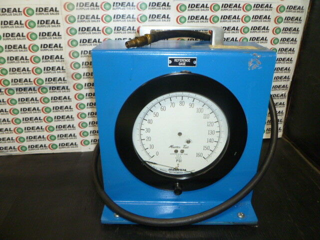 MARSH 6924ISSA PRESSURE GAUGE USED