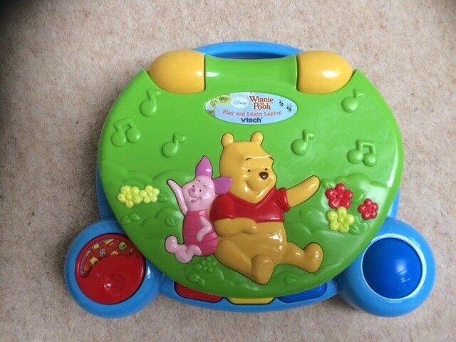 VTech Winnie the Pooh laptop
