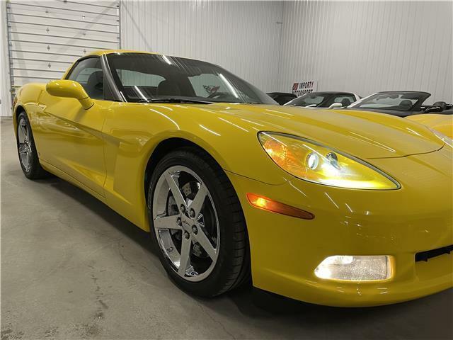 2007 Yellow Chevrolet Corvette Coupe 3LT | C6 Corvette Photo 9