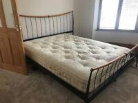 Harrison Double KINGSIZE Bed (Mattress and Base)