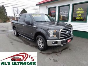 2015 Ford F-150 XLT Super Crew w/ Chrome Package!