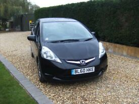 2011 HONDA JAZZ 1.2i-Vtec SI,SERVICE HISTORY,ONLY 43,000 MILES FROM NEW.