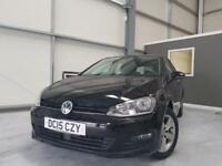 2015 15 VOLKSWAGEN GOLF 1.6 MATCH TDI BLUEMOTION TECHNOLOGY 5D 109 BHP DIESEL