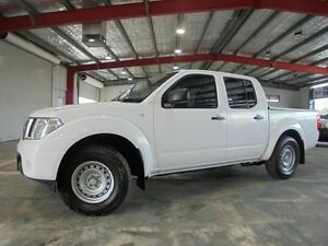 2011 Nissan Navara D40 MY11 RX White 5 Speed Automatic Utility Welshpool Canning Area Preview