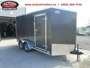 PERFECT SIDE BY SIDE TRAILER (UTV) HAULIN 7X14 W/EXTRA HEIGHT