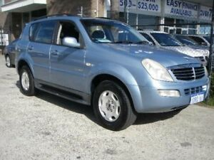 2005 Ssangyong Rexton Y200 RX320 Sport Plus Blue 4 Speed Automatic Wagon Wangara Wanneroo Area Preview