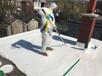 Flat Roof Leak?  Resurface for a fraction the cost of replacing.
