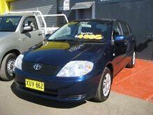 2001 Toyota Corolla AE112R Ascent Seca Blue 4 Speed Automatic Liftback Camden Camden Area Preview
