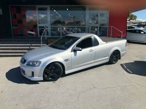 2010 Holden Ute VE MY10 SS V Utility Extended Cab 2dr Spts Auto 6sp 6.0i Silver Sports Automatic