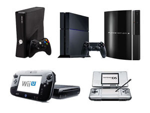 PS4, PS3, PSP, XBOX ONE, XBOX 360, Wii, iPAD REPAIR FIX SERVICE