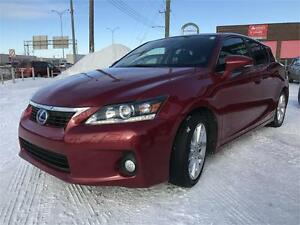 2011 Lexus CT 200h-FULL-AUTO-MAGS-CUIR-TOITOUVRANT
