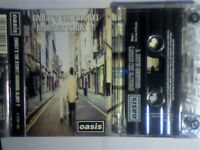 1 TIME OFFER. OASIS - WHAT'S THE STORY MORNING GLORY PRERECORDED CASSETTE TAPE. PRISTINE. £5 SEE AD.