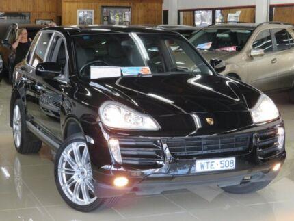 2009 Porsche Cayenne MY09 Black Devil 6 Speed Tiptronic Wagon Seaford Frankston Area Preview