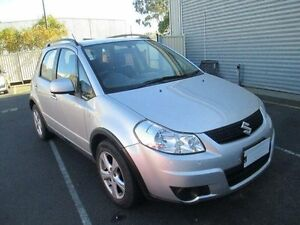 2011 Suzuki SX4 GY MY11 AWD Silver Continuous Variable Hatchback Moorabbin Kingston Area Preview