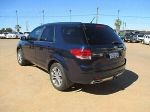 2013 Ford Territory SZ Titanium Seq Sport Shift Blue 6 Speed Sports Automatic Wagon