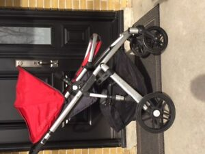 Uppa Baby Vista stroller and all accessories
