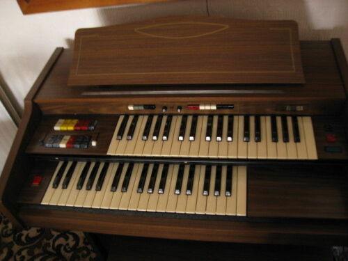 Farfisa Electric Organ includes Stool in Working Order Excellent Condition