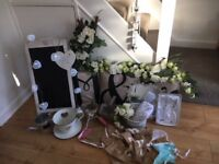 Wedding decorations, props & accessories for the venue