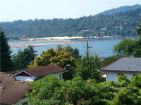 Full Beautiful 2 level 3 bdrms house with inlet view