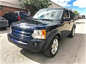 2008 Land Rover LR3 HSE, NAVIGATION, SUNROOF, NO ACCIDENT