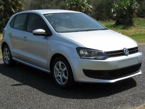 2013 Volkswagen Polo 6R MY13.5 66TDI DSG Comfortline Silver 7 Speed Sports Automatic Dual Clutch Hat Stapylton Gold Coast North Preview