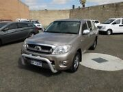 2009 Toyota Hilux GGN15R 09 Upgrade SR5 Bronze 5 Speed Automatic Dual Cab Pick-up Beaconsfield Fremantle Area Preview