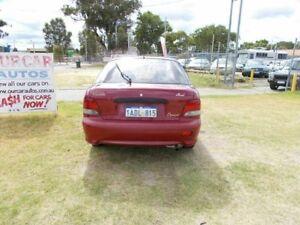 1998 Hyundai Excel LOW KILOMETER  BARGAIN Red 5 Speed Manual Sedan