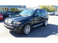 **BMW X5 2004 4.4LITRES**MAG 20'' +ROUE HIVER 19''**9500$**