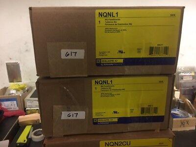 Square D Nqnl1 Nq Panelboard 100 Amp 200 Neutral Kit Nib 617