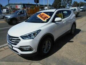 2016 Hyundai Santa Fe DM3 MY16 Active White 6 Speed Sports Automatic Wagon Fyshwick South Canberra Preview