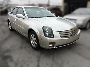 2007 Cadillac CTS, Auto, 147K, leather, Cert./warrany available