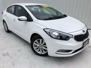 2014 Kia Cerato YD MY14 SI White 6 Speed Manual Sedan Mundingburra Townsville City Preview