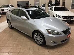2006 LEXUS IS250 AWD*SPORT*PADDLE SHIFT*MOON ROOF*NEW TIRES