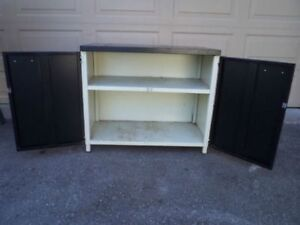 Storage Cabinets and Wire Shelves