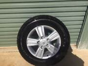 Landcruiser 200 sahara wheels tyres nuts and caps Carwoola Queanbeyan Area Preview