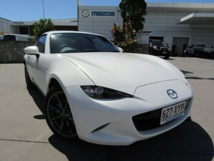 2017 Mazda MX-5 ND GT RF SKYACTIV-Drive White 6 Speed Sports Automatic Targa Maroochydore Maroochydore Area Preview