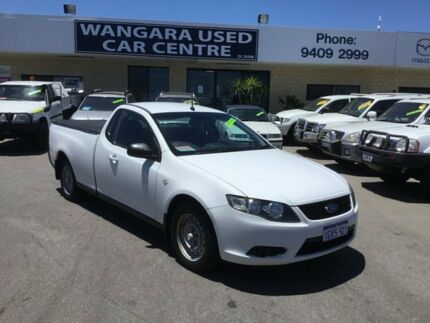 2008 Ford Falcon FG White 5 Speed Auto Seq Sportshift Utility Wangara Wanneroo Area Preview