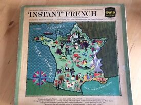 2 Vinyl Records. Boxed. 'Instant French'