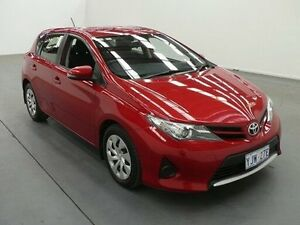 2014 Toyota Corolla ZRE182R Ascent Red 7 Speed CVT Auto Sequential Hatchback Fyshwick South Canberra Preview