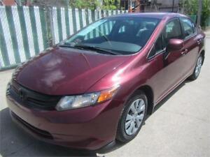 2012 Honda Civic Sdn LX FINANCEMENT MAISON $ 35 SEMAINE
