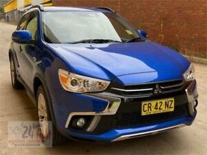 2018 Mitsubishi ASX XC MY19 ES 2WD ADAS Blue 6 Speed Constant Variable Wagon