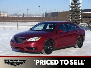 2013 Chrysler 200 TOURING Heated Seats,  Remote Start,   A/C,