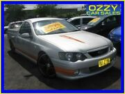 2004 Ford Falcon BA XR8 Silver 4 Speed Auto Seq Sportshift Utility Minto Campbelltown Area Preview