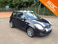2010.10.SUZUKI SWIFT SZ3.1.3.THREE DOOR.BLACK.