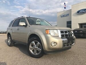 2011 Ford Escape Limited 4x4 3.0L V6 with Leather