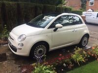 FIAT 500 LOUNGE, 2013, LOW MILEAGE, PERFECT CONDITION, 12 MONTHS MOT