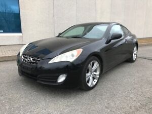 2010 HYUNDAI GENESIS COUPE|ACCIDENT FREE|MOONROOF|LOW KMS|ALLOYS